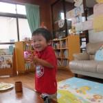 初めて食べたマシュマロおいしっ!