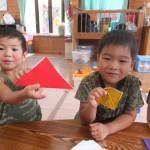 折り紙で何を作ろうかなあ
